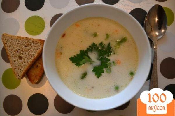 Сырный суп с сосисками рецепт пошаговый