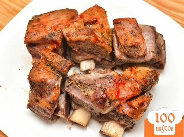 Блюда из мяса на кости рецепты