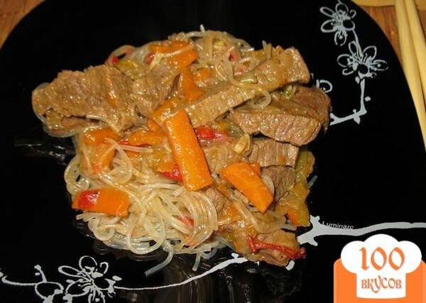 фунчоза пошаговый рецепт с фото