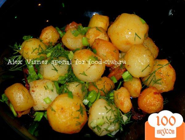 Как приготовить картофель по-деревенски в домашних условиях