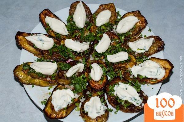 Рецепт баклажаны жареные с чесноком и майонезом рецепт с пошагово