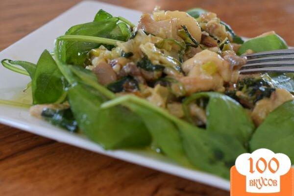 гарнир с грибами рецепты с фото