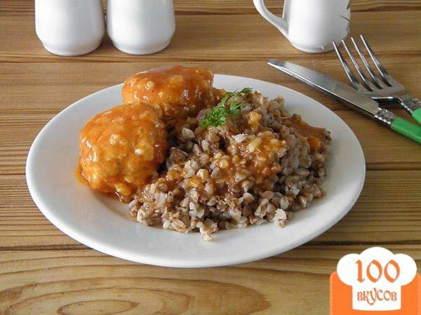 Тефтели с сырым рисом в томатном соусе пошаговый рецепт с