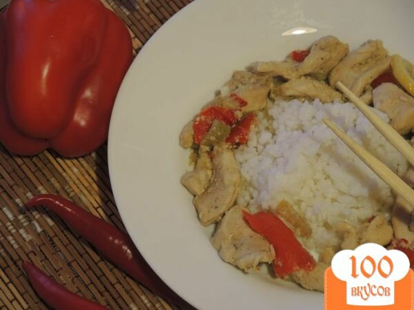 Рецепт карри с курицей рецепт пошаговый
