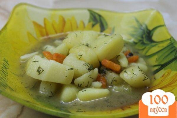 Картофель с овощами рецепт пошагово