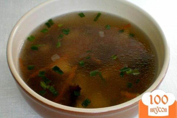 Суп из вареных грибов рецепт с фото