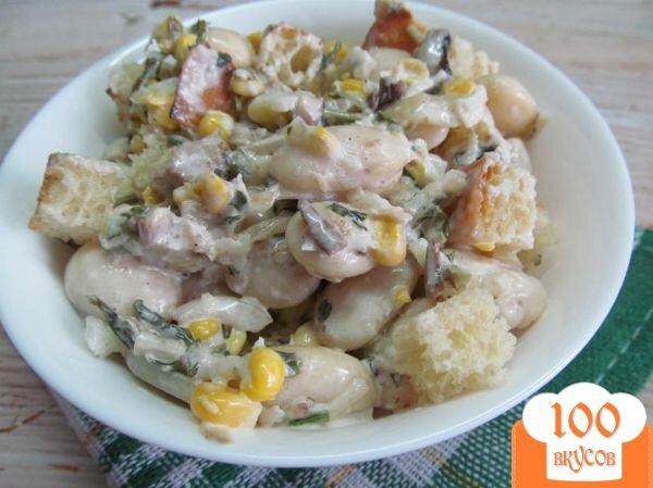 Салат с шпротами рецепт с и кукурузой
