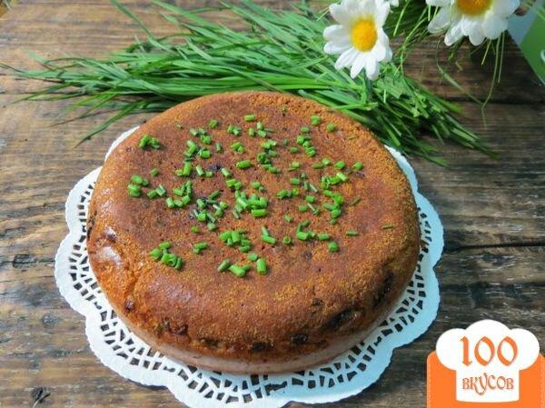 Заливной пирог с фрикадельками рецепт с фото
