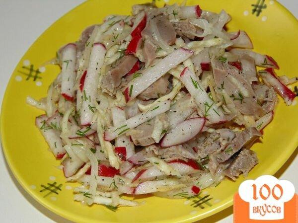 Салат с желудками куриными рецепт пошагово
