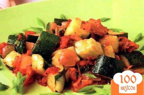 Тушеные кабачки с чесноком рецепт