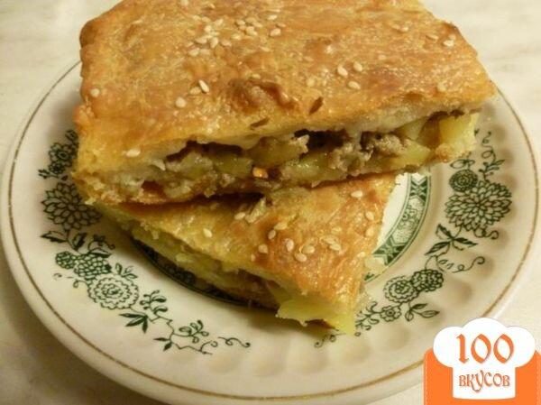 Пошаговый рецепт пирога с мясом с