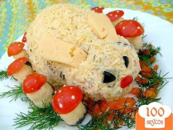 Салат amp;amp;Зайка в осеннем лесуamp;amp; - пошаговый рецепт с фото