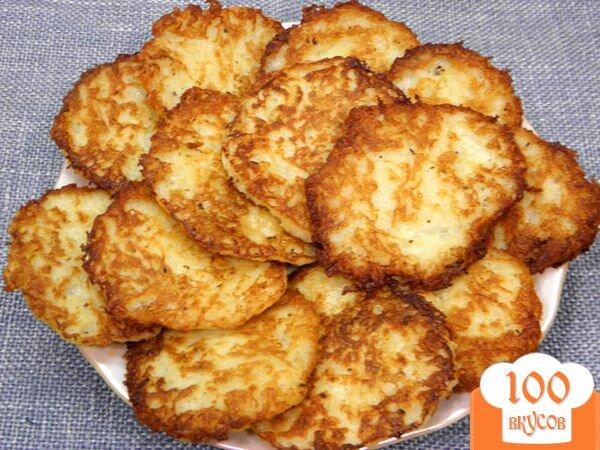 Драники картофельные пошаговый фото рецепт