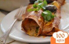 Фото рецепта: «Энчилада с курицей»