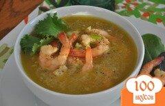 Фото рецепта: «Креветки в соусе с горчицей»