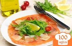 Фото рецепта: «Карпаччо из лосося»