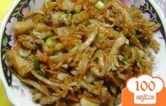 Фото рецепта: «Вешенки с морковью»