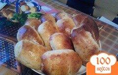 Фото рецепта: «Булочки с яблочным джемом»