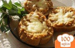 Фото рецепта: «Горячие рыбные бутерброды»