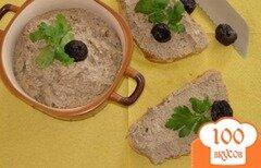 Фото рецепта: «Нежный куриный паштет с черносливом»