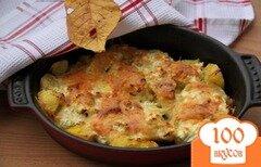 Фото рецепта: «Картофельно-сырный гарнир»