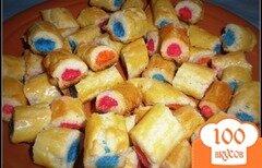 """Фото рецепта: «Печенье """"Изумруды""""»"""