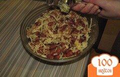 Фото рецепта: «Салат из фасоли и яблока»