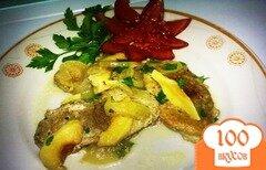 Фото рецепта: «Мясо с айвой»