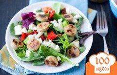 Фото рецепта: «Куриный сладкий салат с карри»