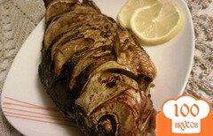 Фото рецепта: «Караси с лимоном и луком»