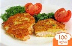 Фото рецепта: «Куриное филе в сырном кляре»