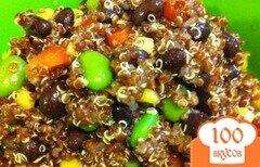 """Фото рецепта: «""""Мексиканское конфетти"""" (салат из крупы квиноя)»"""