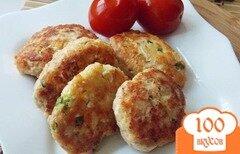 Фото рецепта: «Котлеты из индейки с сыром»