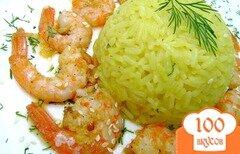 Фото рецепта: «Креветки, обжаренные в оливковом масле с чесноком»