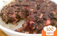 Фото рецепта: «Овсяное печенье с ягодами и орехами»