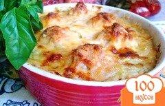 Фото рецепта: «Суфле из кабачка с куриными фрикадельками»