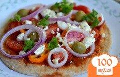 Фото рецепта: «Пицца по -быстрому»