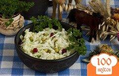 Фото рецепта: «Салат с горошком»