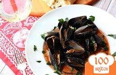 Фото рецепта: «Мидии в соусе Фра-Дьяволо»