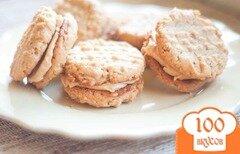 Фото рецепта: «Овсяное печенье-сэндвичи»