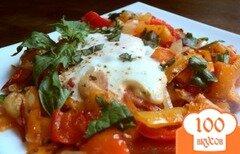 Фото рецепта: «Яичница с овощами»