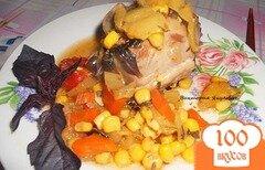 Фото рецепта: «Индейка с овощами»