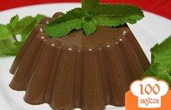 Фото рецепта: «Желе шоколадное»