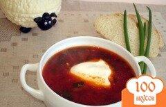 Фото рецепта: «Вкуснейший горяченький свекльник»