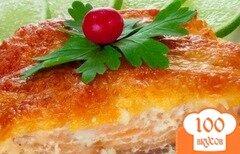 Фото рецепта: «Горбуша в мультиварке с картошкой»