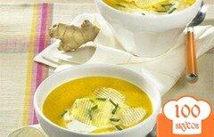 Фото рецепта: «Суп из моркови и имбиря»