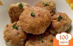 Фото рецепта: «Котлеты из телятины с перловкой»