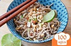 Фото рецепта: «Лапша Соба по-тайски»