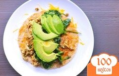 Фото рецепта: «Буррито на завтрак»
