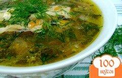 Фото рецепта: «Суп со щавлем «Зелёный»»